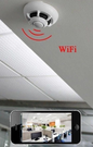 P2P Smoke Detector w/ Wireless Camera