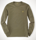Polo Ralph Lauren Men's Custom Long-Sleeved T-Shirt