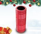 Red Foam Roller for Physical Therapy & Exercise
