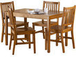 Mainstays 5 Piece Wood Dining Set