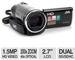 JVC GZ-HM30BUS HD Flash Memory Camcorder (Refurb)