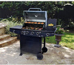 Brinkmann 4-Burner Gas Grill w/ Side Burner