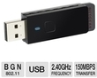 Netgear 150Mbps USB 2.0 Wireless-N Adapter (Refurbished)