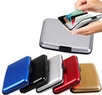Aluminum RFID Blocking Credit Card Wallet