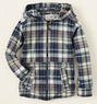 Boys' Plaid Zip-up Hoodie