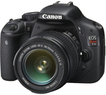 Canon EOS Rebel T2i 18 MP 3.0 SLR Camera w/ Lens (Refurb)