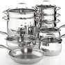 Belgique Stainless Steel 14 Piece Set