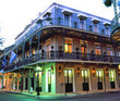 New Orleans Balcony-Lined Hotel