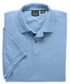 Three Jos. A. Bank Men's Short-Sleeve Solid Polo Shirts