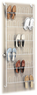 Whitmor 18-Pair Over-the-Door Wire Shoe Rack