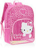 Hello Kitty Leopard Print and Hearts 16 Backpack