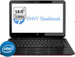 ENVY Sleekbook 4t-1000 14'' Laptop w/ Intel Core i3-2367M