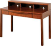Z-Line Deluxe Wood Office Collection Desk & Hutch