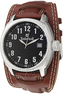 Timberland Men's Terrano Watch with Leather Strap