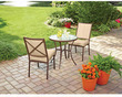 Mainstays Crossman 3-Piece Bistro Set