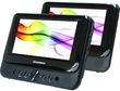 Sylvania 7 Dual-screen Portable DVD Player (Refurbished)