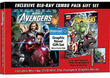 Marvel's Avengers Combo Pack on Blu-ray / DVD Graphic Novel