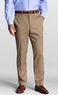 Regular Plain Front Tailored Fit No Iron Twill Trousers