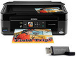 Epson Stylus NX330 Wireless Inkjet Color Printer Bundle