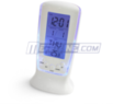 Digital LCD FM Alarm Clock with Calendar and Thermometer