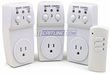 Remote-Controlled Switch Socket 3-Pack