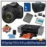 Canon EOS Digital Rebel T2i 18-MP Digital SLR Camera Bundle