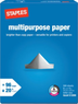 Staples Brand Multipurpose 8.5 x 11 Paper (In-Store)
