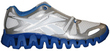 Reebok ZigDynamic White/Buff Blue/Silver Men's Running Shoes