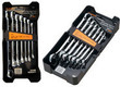 Zwrench 14 Piece SAE & Metric Ratcheting Open End Wrench Set