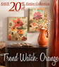 Kirkland's - 20% Off Orange Art & Accessories