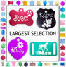 Custom Engraved Double-Sided Pet ID Tag