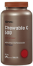 GNC Vitamin C 500mg 90-Count Chewable Tablets