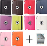 360 Rotating Magnetic Leather Case Smart Cover for iPad3/2