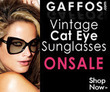 Gaffos.com - 10% Off Cat Eye Style Sunglasses