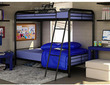 Dorel Twin Over Twin Metal Bunk Bed