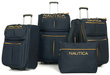 Nautica Maritime II Expandable 4-Piece Luggage Set