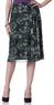 Women's Scatter Print Mesh Skirt