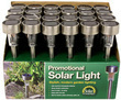 Outdoor Garden Stainless Steel Solar Lights Case of 24