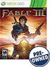 Fable III Xbox 360 Game (Pre-Owned)