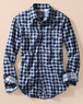 Men's Club Collar Heathered Workshirt