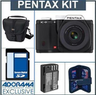 Pentax K-01 16.3-Megapixel Mirrorless Digital Camera Bundle
