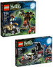 Lego The Werewolf & The Vampyre Hearse Play Sets Bundle