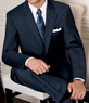 Four Men's Signature Merino Wool 2-Button Suits