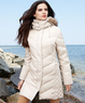 Kenneth Cole Reaction Fur-Hooded Down Puffer Coat