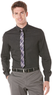 Men's Slim Fit Plaid Herrinbone Shirt