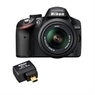 Nikon D3200 24.2 MP Digital SLR Camera Bundle