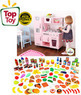 KidKraft Bundle: Kitchen and Tasty Treats 125-Pc. Play Set