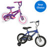 12 Huffy Sea Star Girls Bike or 12'' Rock it Boys Bike