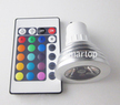 Energy Saving 3W Multi-Color LED Bulb & Remote