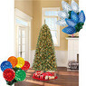 Holiday Time Artificial Christmas Tree and Lights Bundle
